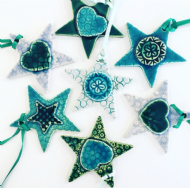Jakki Trainor - Hanging Star Decorations
